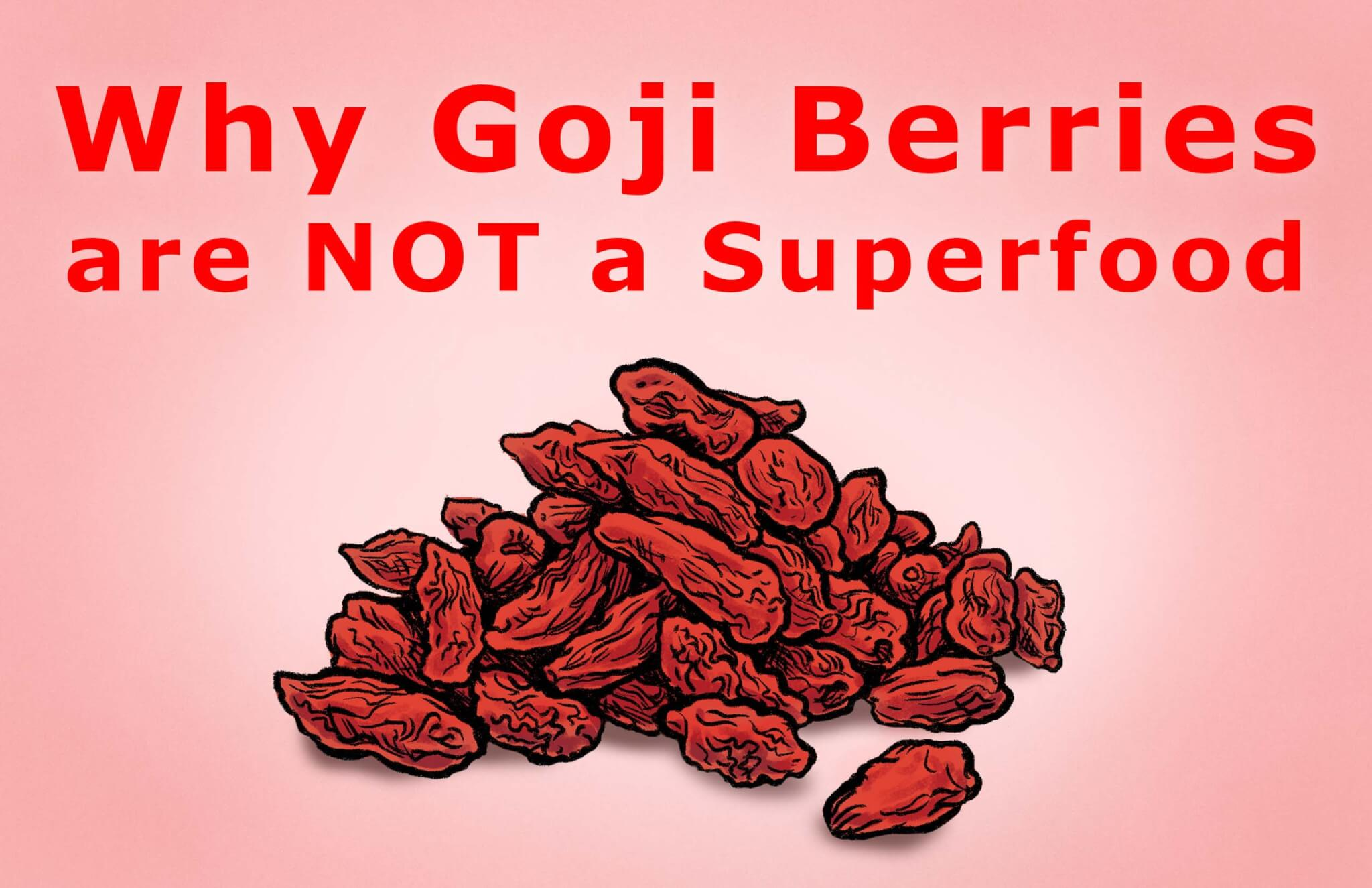 Why You Should Avoid Goji Berries At All Costs [VIDEO]