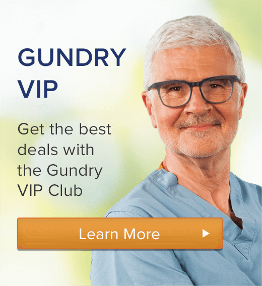 Gundry VIP - Sign Up Now