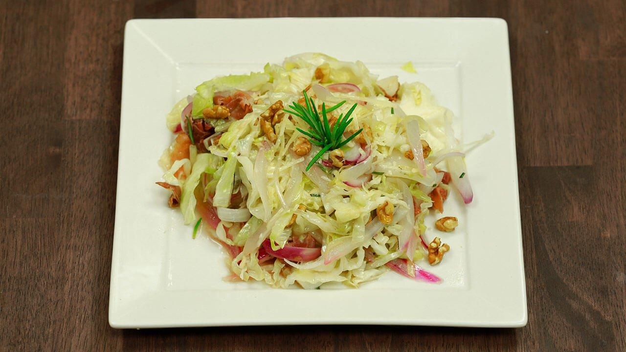 Dr. Gundry's Sautéed Cabbage Recipe (with walnuts & prosciutto!)